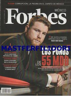 Saul Canelo Alvarez Revista Forbes Agosto 2017 Box