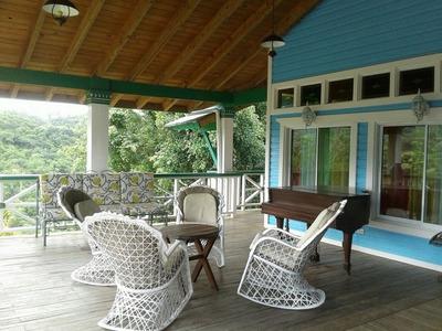 Hermosa Villa En La Montaña De Renta En Jamao