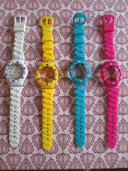 Relógio Champion Troca Pulseiras