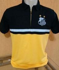 Camisa Santos Amarela Futebol Camisas Times Usado no Mercado Livre ... 618fa2e569f08