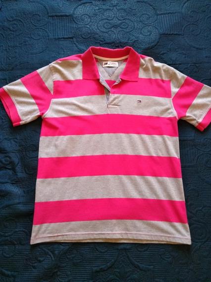 Camiseta Polo Tng / Tommy Hilfiger Tamanho M