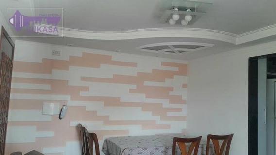 Apartamento Com 2 Dormitórios À Venda, 55 M² Por R$ 234.000,00 - Jardim Alvorada - Santo André/sp - Ap0570