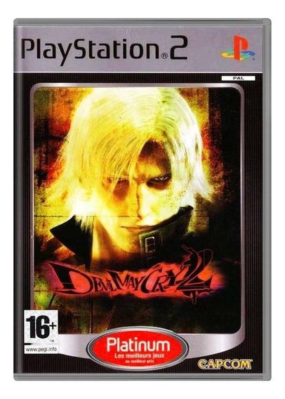 Devil May Cry 2 Ps2 Europeu Mídia Física Pronta Entrega