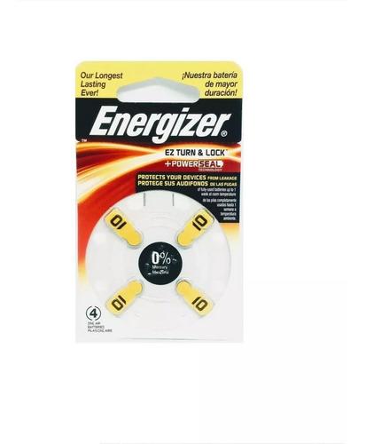 Pila Energizer Az 10 Blister X20unidades Audifono Audiologia