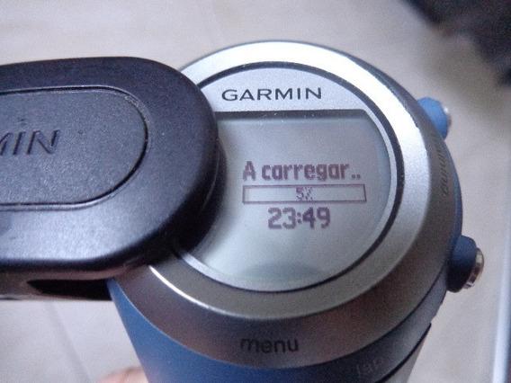 Relogio Garmin 405 Cx Forerunner + Cinta+carregador + Cabo