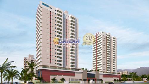 Apartamento Com 2 Dorms, Vila São Paulo, Mongaguá - R$ 320 Mil, Cod: 8265 - V8265