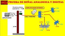 Reparacion Y Amplificacion De Señal De Cable