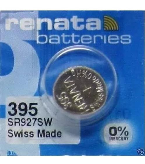Bateria 395 De Óxido Prata Sr927sw Renata - 1 Unidade