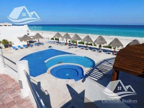 Departamento En Venta En Cancún Zona Hotelera / Villas Marlin