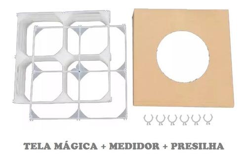 Imagem 1 de 4 de 48 Tela Mágica +medidor+presilha Balões Bexigas Frete Grátis