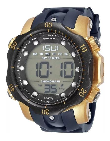 Relógio Speedo Sport Big Case Cronômetro Alarme 11005g0evnp4