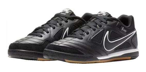 Botines Nike Sb Gato Negro Skate Botin Futsal Zapatillas