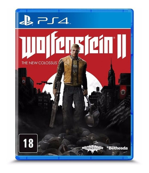 Wolfenstein Ii - The New Colossus - Ps4 | Ps4 Midia Fisica