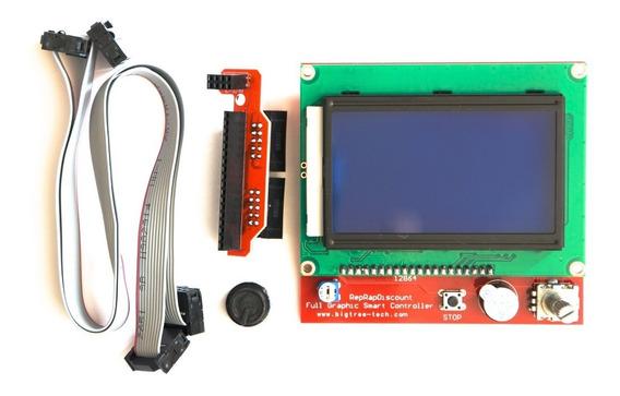 Display Lcd 12864 Painel De Controle Impressora 3d