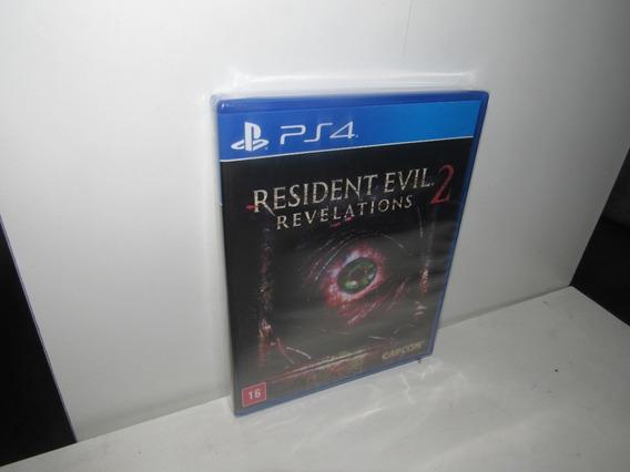 Resident Evil Revelations 2 Ps4 Mídia Física Novo Lacrado