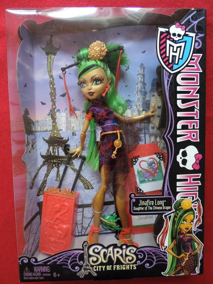 Boneca Monster High Jinafire Long - Scaris, City Of Frights