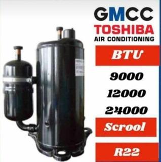 Compresores Rotativos Gmcc De 18/24btu 220v En Ofertaaa