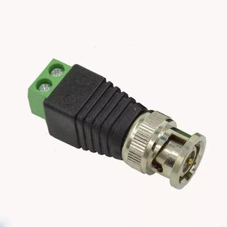 Conector Bnc Macho Con Terminales Tipo Tornillo