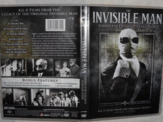 El Hombre Invisible -dvd- Legacy Series- 6 Films