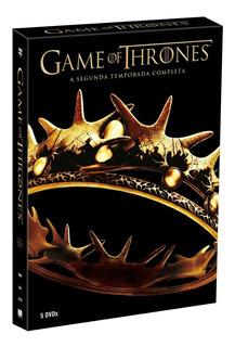 Dvd Game Of Thrones - 2ª Temporada - 5 Discos