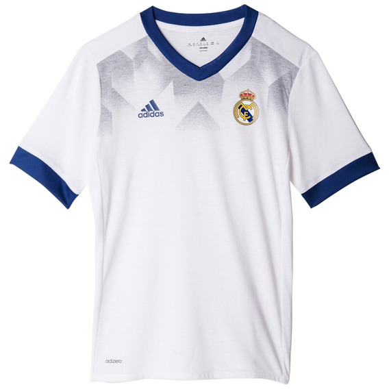 Playera Local Prepartido Real Madrid Niño adidas Bp9172