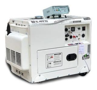 Planta Generador Electrico 6.500 Watts Hi E Arns Silenciosa
