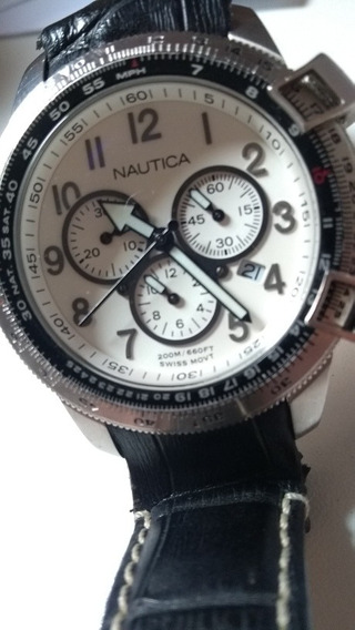 Relógio Náutica Swiss Movement Water Resistant 200m A29505