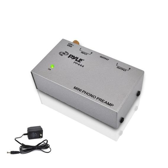 Pré Amplificador De Phono Compacto Pyle Pp444 Turntable