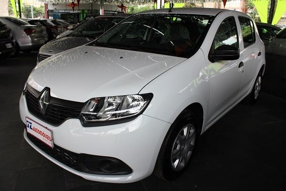 Renault Sandero Authentique 1.0 Carro Bom Financiamento Uber