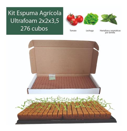 Kit Espuma Agrícola Para Hortalizas