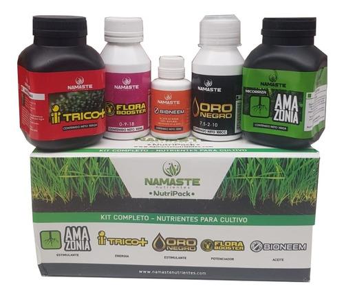 Namaste Nutripack Kit Completo Cultivo Bettercall Grow