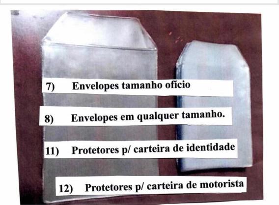 Capa Plástica Documentos - Identidade - Pacote 100 Unidades