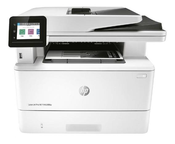 Impressora Hp Laser Multifuncional Com Fax Mono Pro M428fdw