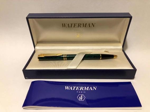 Bolígrafo Waterman Paris Trazo Medio Resina