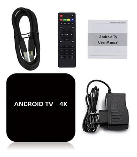 Android Smart Tv 4k Convertidor Box