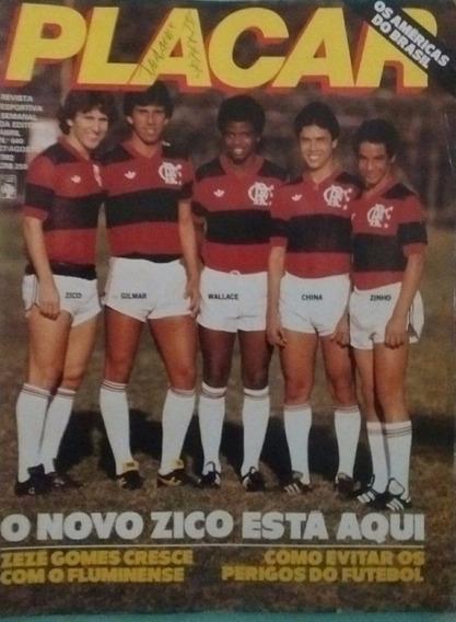Revista Placar - O Novo Zico - 1982
