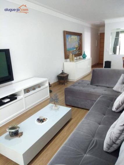 Apartamento Com 3 Dormitórios À Venda, 106 M² Por R$ 610.000,00 - Urbanova - São José Dos Campos/sp - Ap7120