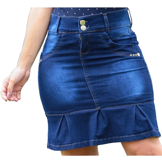 Kit 10 Saia Jeans Secretaria Evangelica Moda Gospel Revenda
