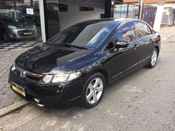 Civic 2008 1.8 Lxs Flex Aut. Bem Conservado