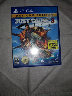 Just Cause 3: Day One Edition - Ps4 - Fisico