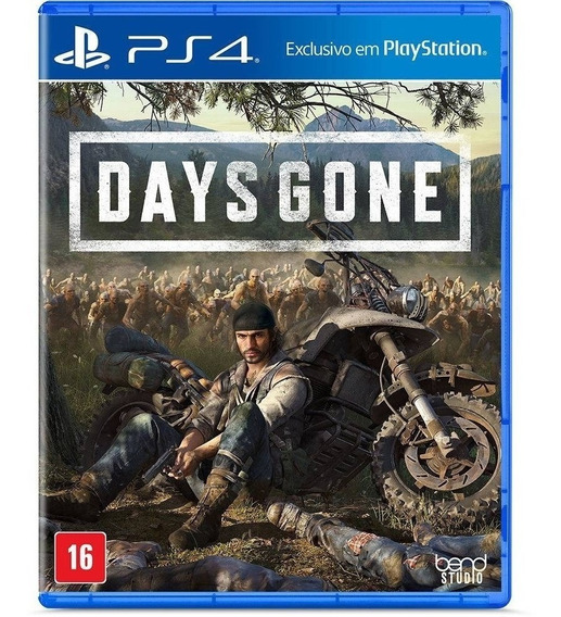 Days Gone Ps4 Mídia Física Lacrado Pt Br Pronta Entrega