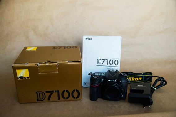 Camera Nikon D7100 Corpo Usada Com 44k. Abaixei
