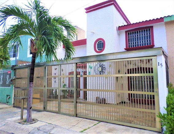 Casa En Venta En Cancun A 20 Min De La Playa C2835