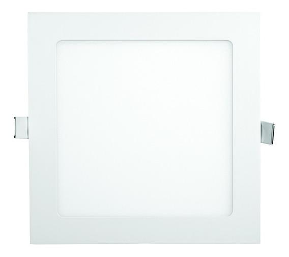 Painel Led Plafon Embutir Branco Frio Quadrado 40x40 40w