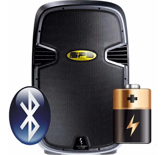 Corneta Portatil Sps 10 Abt 400 W Bateria Bluetooth Usb 10p