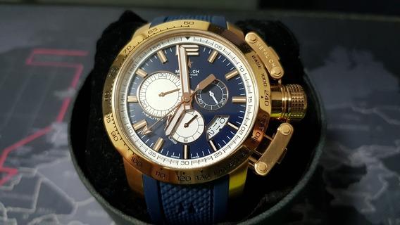 Reloj Original Para Caballero Marca Metal Ch 4353.44