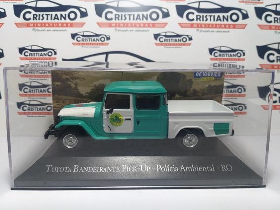 Toyota Bandeirante Pick-up Polícia Ambiental Ro Serviço 1/43