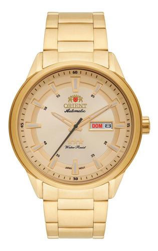Imagem 1 de 1 de Relógio Orient 469gp065 C1kx Automatic Champagne - Refinado