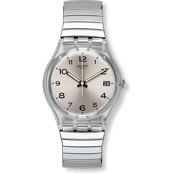Relógio Swatch Silverall Gm416a Aço Prata Original