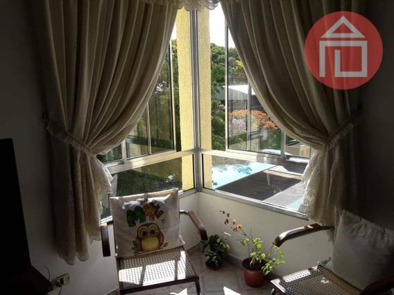 Apartamento Com 3 Dormitórios À Venda Por R$ 350.000 - Residencial Das Ilhas - Bragança Paulista/sp - Ap0728